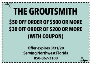 Sowal March 2020 Coupons The Groutsmith