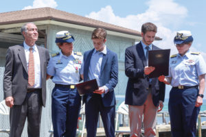 Coast Guard Martha And Family