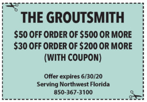 Coupons Sowal June 2020 Groutsmith