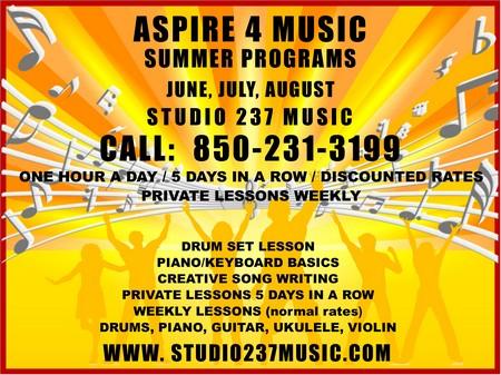 June Art Work Aspire 4 Music 2020