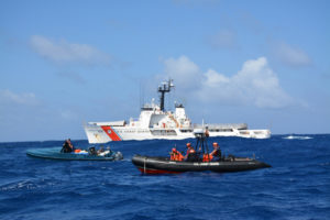 Coast Guard Cutter Diligence Returns To Wilmington