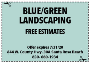 Sowal July 2020 Coupons Blue Green