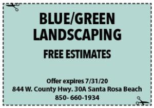 Sowal July 2020 Coupons Blue Green
