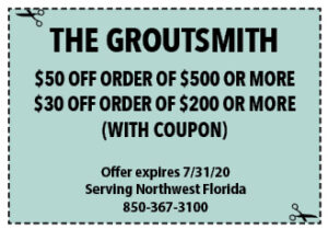 Sowal July 2020 Coupons Groutsmith