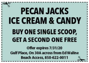 Sowal July 2020 Coupons Pecan Jacks