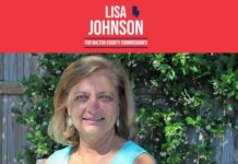 Republican Lisa Johnson
