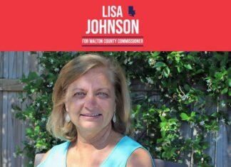 Republican Lisa Johnson