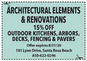 Sowal August 2020 Coupons Architectural Elements