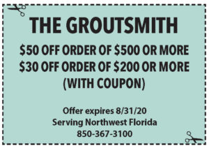 Sowal August 2020 Coupons Groutsmith