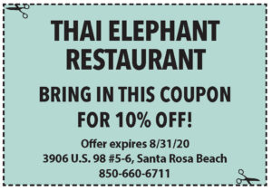 Sowal August 2020 Coupons Thai Elephant