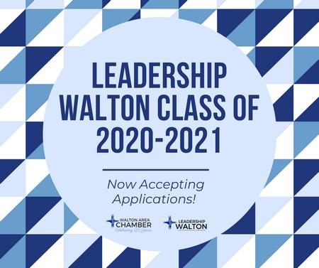 Walton Area Chamber Leadership Walton Applications 2020