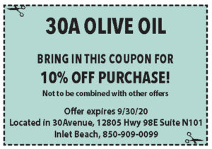 30a Olive Oil Coupons Sowal Sept 2020