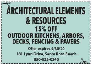 Architectural Elemements Coupons Sowal Sept 2020