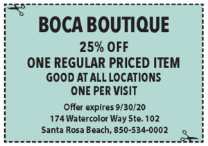 Boca Coupons Sowal Sept 2020