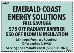 Emerald Coast Energy Solutions Coupons Sowal Sept 2020