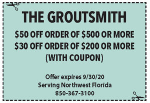 Groutsmith Coupons Sowal Sept 2020