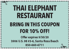 Thai Elephant Coupons Sowal Sept 2020