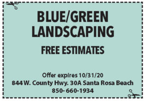 Coupons Sowal Oct 2020 Blue Green