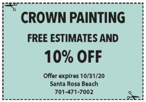 Coupons Sowal Oct 2020 Crown Painting