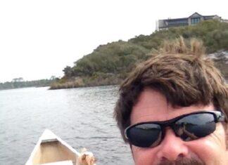 Doug Water Testing With Bimini