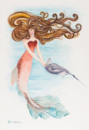 Hathorn Mermaid A New Friend Web