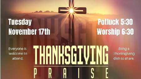 20 Thanksgiving Praise And Potluck