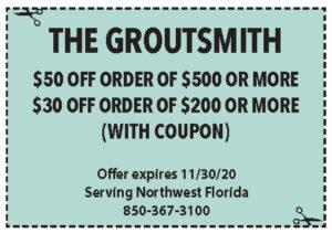 Sowal Nov 2020 Coupons Groutsmith