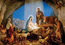Jesus Nativity Scene Drawing Image In Vector Cliparts Category At Pixy.org