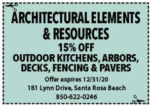 Sowal Dec 2020 Coupons Architectural Elements