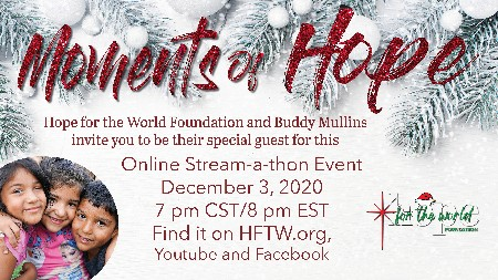 Moments Of Hope Christmas Event Indesign Files