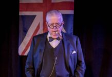 Bruce Collier As Winston Churchill