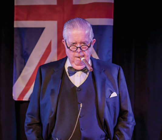 Ectc Bruce Collier As Winston Churchill