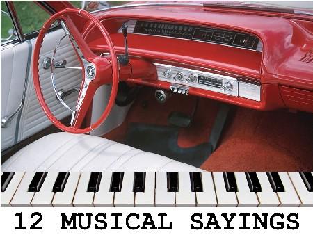 January 2021 Art Work 12 Musical Sayings
