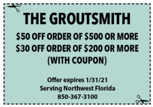Sowal Jan 2021 Coupons Groutsmith