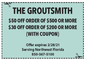 Sowal Feb 2021 Coupons Groutsmith