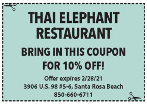 Sowal Feb 2021 Coupons Thai Elephant
