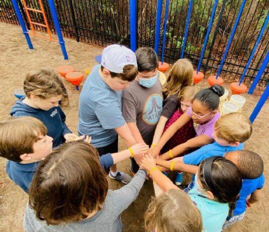 Children Hands In Photo