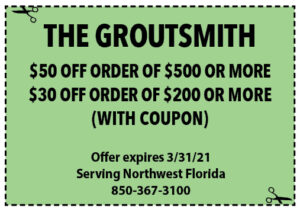 Sowal Coupons March 2021 Groutsmith