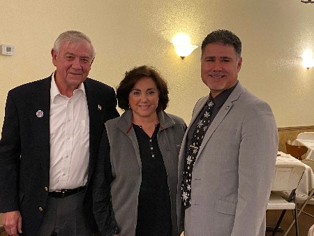 Bonnie Mcquiston, Secretary And Newly Elected Vice Chairman, Artie Rodriguez. Kriss Fauk, Our Treasurer, Was Unable To Attend This Meeting