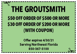 Sowal Coupons Groutsmith April 2021
