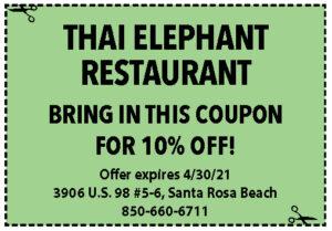 Sowal Coupons Thai Elephant April 2021