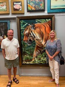 Art Collectors Tom And Vicki