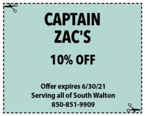 Sowal June 2021 Coupons Capt Zacs
