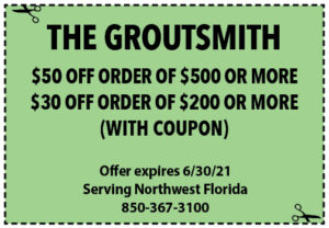 Sowal June 2021 Coupons Groutsmith