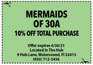 Sowal June 2021 Coupons Mermaids Of 30a