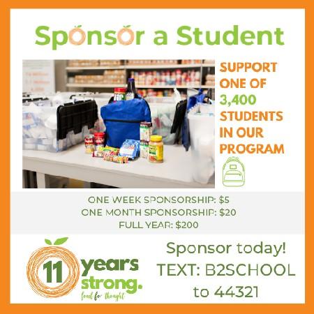 Sponsor A Student 2021